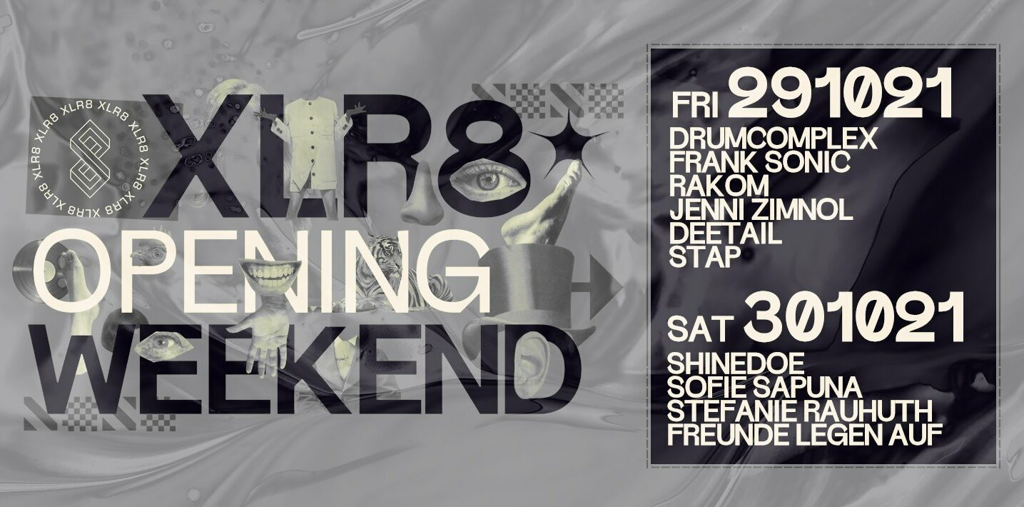 Read more about the article XLR8 Kleve – Opening Weekend – Friday 29.10.21